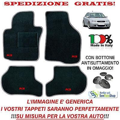 Decori /'03 Tappeti AUTO Tappetini su misura AUDI S3 8L /'96 8 Block......2