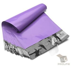 100-Poly-Mailers-10x13-Shipping-Bags-Plastic-Packaging-Mailing-Envelope-Purple