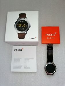 Fossil-Q-Founder-2-0-Smart-Watch-47mm-Stainless-Steel-Case-Brown-Leather-Strap
