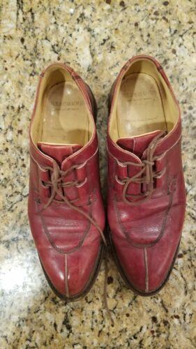 Heschung dress shoes split toe lace
