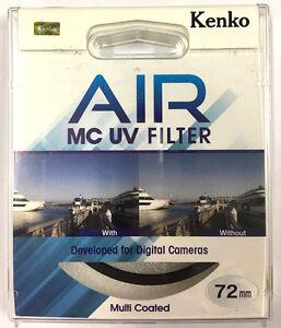 Kenko Air Slim MC UV Filter Multi-Coated Ultraviolet Camera Lens Filter 72mm