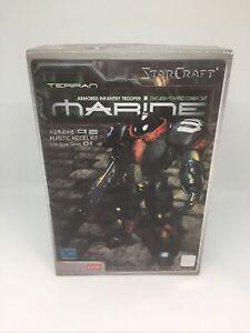 Academy-Model-Kit-1-30-StarCraft-Terran-Marine-Posable-Model-Kit-Blizzard