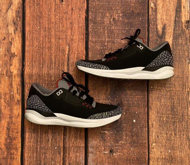 Nike Jordan 88 Racer Black Cement Yellow Elephant Mens Running Shoes Size 12