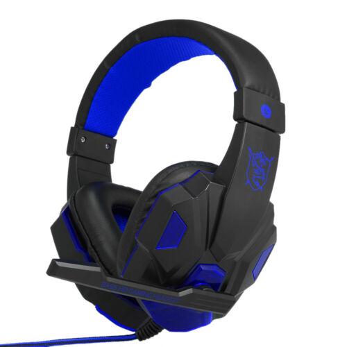 USB 3.5mm Surround Stereo Gaming Headset Hifi Music Headphone MIC For PC Laptop
