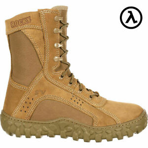 ROCKY-S2V-8-034-USA-MADE-STEEL-TOE-MILITARY-BOOTS-COYOTE-6104-ALL-SIZES-NEW