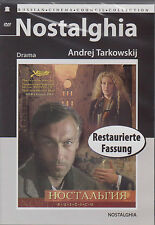 DVD russisch NOSTALGIA Nostalghia Nostalgie Ностальгия Tarkovsky Тарковский