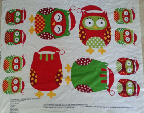 Brand New Christmas Owl Toy Panel