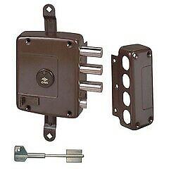 serratura di sicurezza destra Cisa 57165.60.1 doppia mappa senza aste