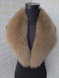 Saling ! Genuine fox fur collar / wrap / fur scarf brow