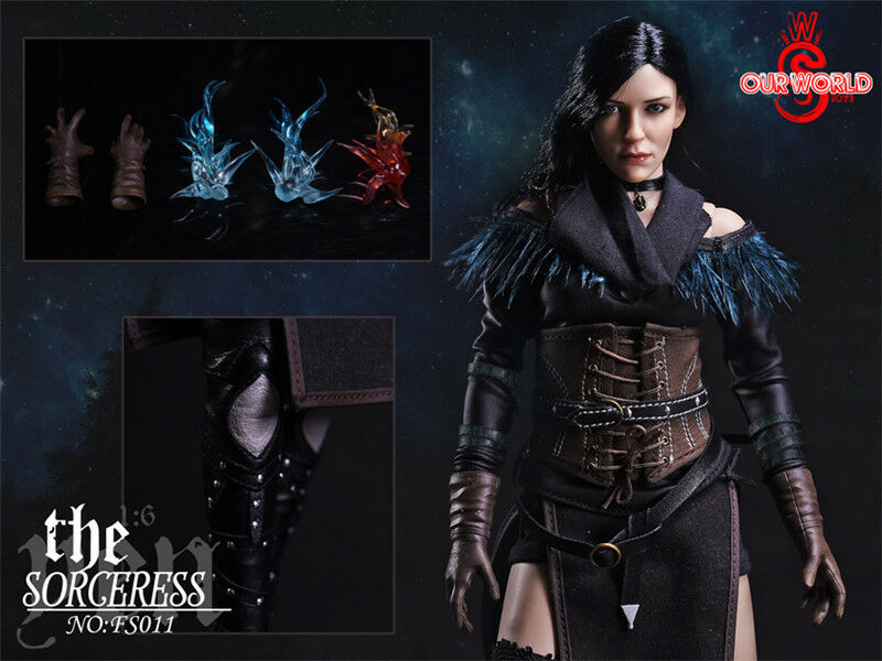 NEW 1 6 The Witcher 3    Wild Hunt Yennefer sorceress hot action figure toys ad2b48