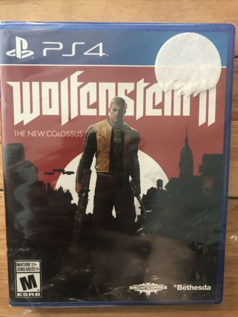 Wolfenstein II - The New Colossus for PlayStation 4 BRAND NEW SEALED !