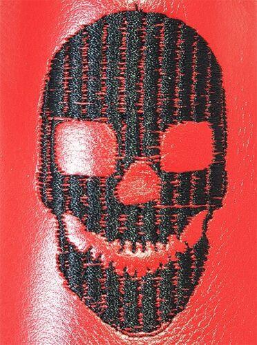 Slipper 40 Original Skull Slipper Rouge Chelsy 0OwFqaFBnH