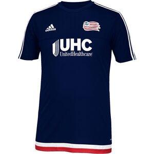 077305fc8b5 adidas New England Revolution MLS 2014 - 2015 Soccer Training Jersey ...