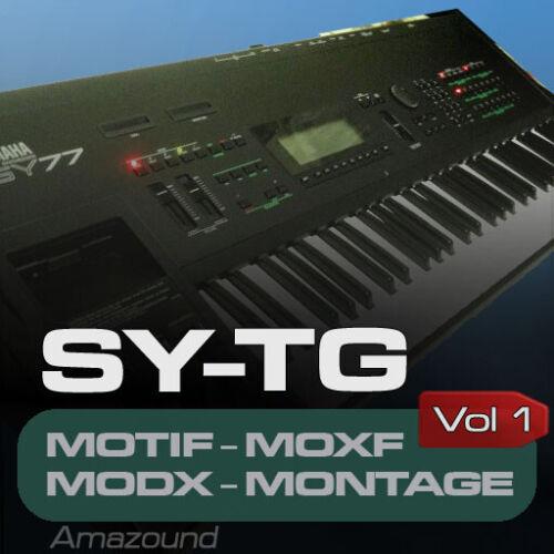 YAMAHA SY77 SAMPLES for MOTIF ES XS XF MOXF MODX MONTAGE KEYMAPS READY TO PLAY