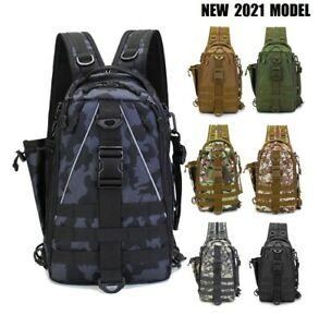 NEW Fishing Tackle Backpack Storage Waterproof Hiking Outdoor Camp Gear Bag