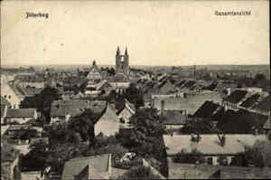 Feldpostkarte-aus-JUTERBOG-Gesamtansicht-und-Stempel-Feldpost-1-Weltkrieg