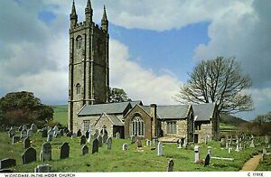 Postcard  Devon Widecombe  in the moor Church not posted  Judges - Wisbech, United Kingdom - Postcard  Devon Widecombe  in the moor Church not posted  Judges - Wisbech, United Kingdom