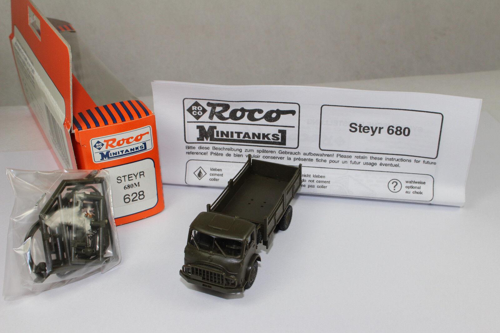 Ro1092, RocoMinitanks 628 628 628 Steyr 680M BOX mint 1 87 HO 8b1bcc