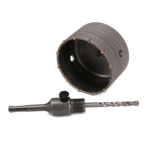 110 MM ROUND Special Delivery Service ARBRE /& KIT Trou Scie Carbure Drill Bit pour ciment Briques Mur