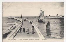 Belgium, Ostende, L'Entree du Port au moment de la maree ND 1 Postcard, B231