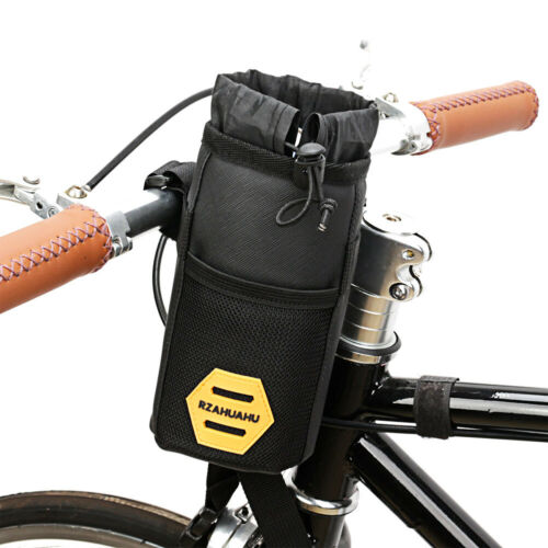 Bicycle Insulated Water Bottle Holder Bag MTB Bike Handlebar Kettle Storage Bag
