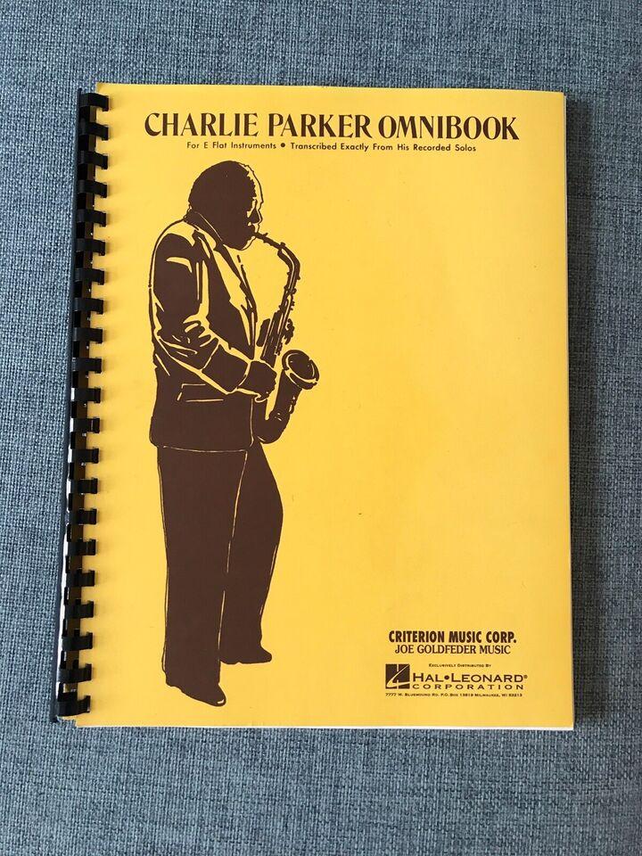 Nodehæfte, Charlie Parker Omnibook Eb