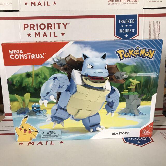 Mega Construx Build Beyond Pokémon BLASTOISE New in Box 284 Pieces - FPM99 2017