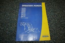 New Holland 815tl 885tl Tractor Loader Operator 1011 Manual Free Shipping