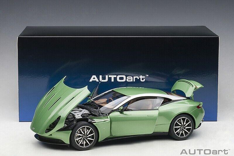 Autoart  ASTON MARTIN DB11 APPLETREE verde 1 18 Scale New Release  Preorder.