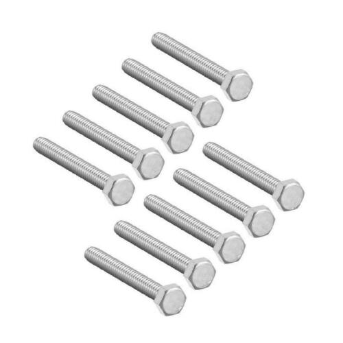 50 x Assorted Set Screw Bolts M10  High Tensile Hex Head 10mm Fully Threaded