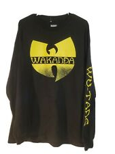 Tie-Dye Black Panther Wakanda Wu Tang T-Shirt