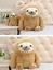 UK-Cute-Giant-Sloth-Stuffed-Plush-Toys-Pillow-Cushion-Gifts-Animal-Doll-Soft thumbnail 5