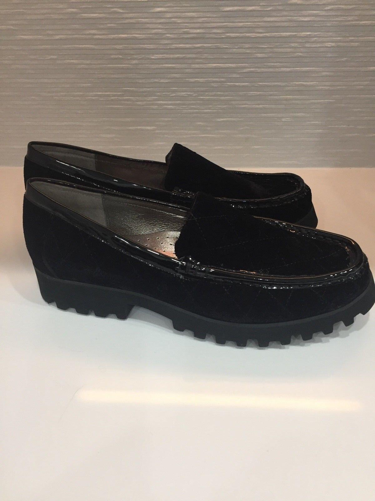 Donald Pliner Negro Terciopelo Roko Zapatos Planos 2-U 2-U 2-U 8.5 Nuevo con etiquetas  estilo clásico