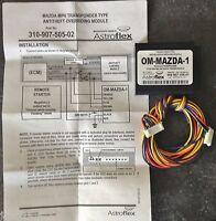 Astroflex Astrostart Mazda Mpv Transponder Interface Om-mazda-1 31090750502