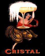 Poster Cristal Champagne   Art Print