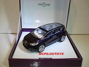 Coffret Norev Renault Concept Car Initiale Paris Salon De Francfort 2013 Au 1/43