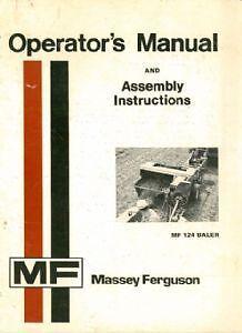 new holland 644 654 664 baler operators manual