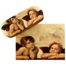 Brillenetui Hardcase Box Kunst Motiv Geschenk Damen Herren Raffael Engel  7509