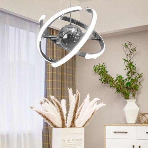 32W Dimmbar Hängelampe Kronleuchter Pendelleuchte Deckenlampe Lesezimmer Deform