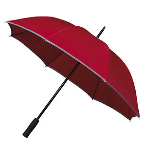 Falcone-Reflective-Hi-Vis-Golf-Umbrella-Red
