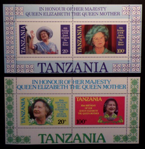 DéSintéRessé Tanzanie 264-267 Bloc 42, Bloc 43 Cachet Les Produits Sont Disponibles Sans Restriction
