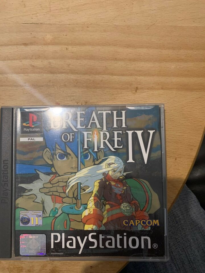 Breath of fire IV, PS, rollespil