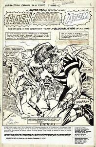 ALAN WEISS 1977 FLASH, ATOM SPLASH ART-SIGNED BY JOE RUBINSTEIN!  FREE SHIPPING!