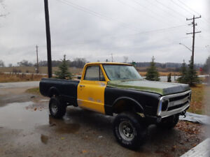 1971 Chevy Half Ton 4 Wheel Drive Restoration Project