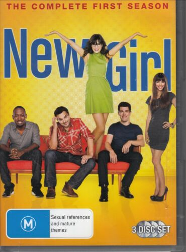 1 of 1 - New Girl : Season 1 (3-Disc Set) - DVD REGION 4