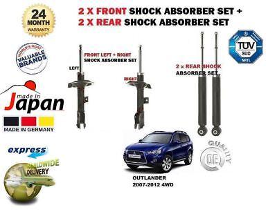FOR MITSUBISHI L200 2.5D 2.5TD 4WD 1996-2007 2 x REAR SHOCK SHOCKER ABSORBER SET