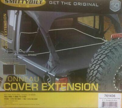 07 11 Smittybilt Brand Nib Jeep Wrangler Jk Tonneau Cover Extension 761436 Ebay