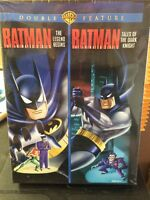 Batman Animated Double Feature Legend Begins & Tales Of Dark Knight Dvd