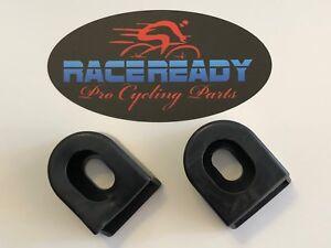 2-Race-Ready-Black-Bike-Crank-Arm-Boots-MTB-Cycling-fits-SRAM-Shimano