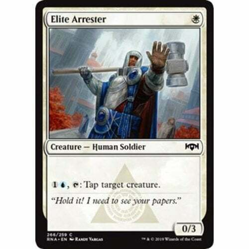 NM Card x 4 Playset Elite Arrester MTG Ravnica Allegiance